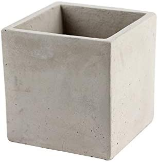 Nicole Flower Pot Silicone Mold Square Succulent Planter Concrete Mould Garden Bonsai Decorating Tools
