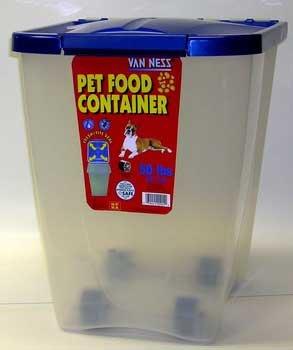 Van Ness Pet Food Dispenser 50lb