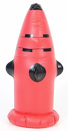 Wilfred Dog Suit (Inflatable Water Dog's Firefighter Costume Accessory Fire Hydrant)