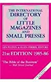 International Directory of Little Magazines and Small Presses, Len Fulton, 091321843X