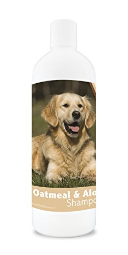 Cheap Healthy Breeds Dog Oatmeal Shampoo with Aloe for Golden Retriever – Over 75 Breeds – 16 oz – Mild and Gentle for Itchy, Scaling, Sensitive Skin – Hypoallergenic Formula and pH Balanced