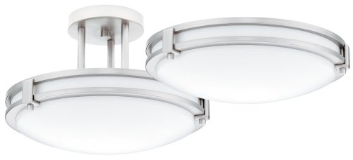 Lithonia Lighting BN M Saturn Watt SingleLight - Kitchen fluorescent light fixtures amazon