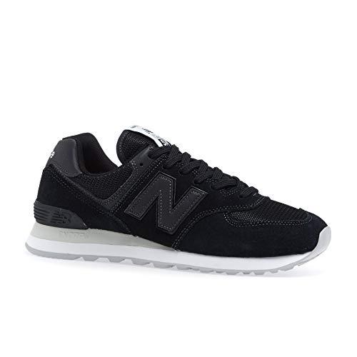 New Balance Men Black Sneakers