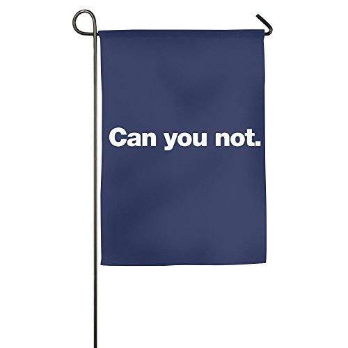 Buecoutes Can You Not Home Family Party Flag 1827inch Hipster Welcomes The Banner Garden -