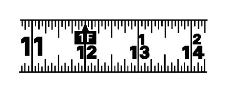 037103241108 - Lufkin L625 Lufkin 1-Inch by 25-Feet Hi-Viz Orange Power Return Tape carousel main 4