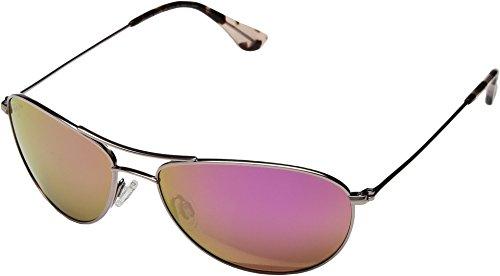 Maui Jim Men,Women 245 BABY BEACH 56 Pink/Pink Sunglasses 56mm by Maui Jim