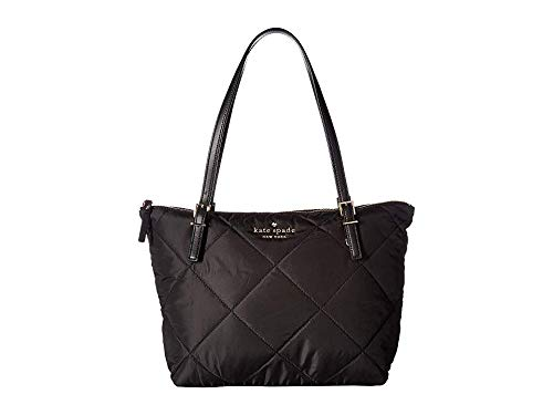 Kate Spade New York Women's Watson Lane Quilted Small Maya Tote, Black, One Size