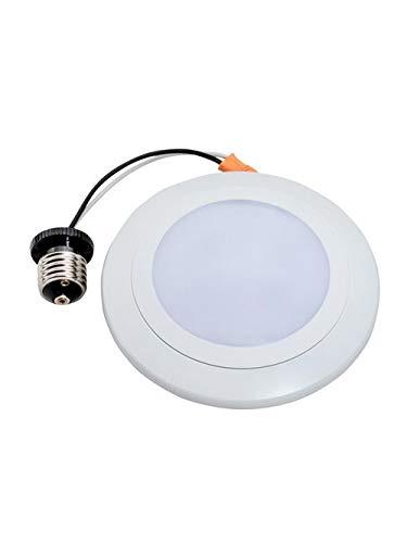 Topaz Corp Sdl4/12/930/D 12 W 120 Volt White Surface Mount Led Disk Light Fixture (6 Units)