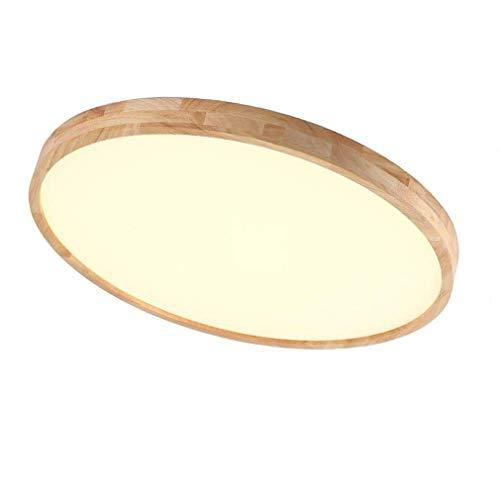 Regulable LED Lámpara de techo, madera moderno plafón, Mesas redondo Diseño Techo de iluminación, creativos de luces…