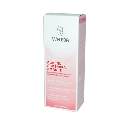 Weleda Cleansing Lotion (2 Packs of Weleda Soothing Cleansing Lotion Almond - 2.5 Fl Oz)