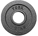York Cast Iron Olympic Plate (Uncalibrated) 2.5 kg