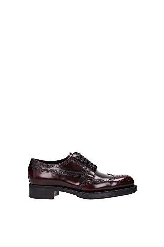 allacciata women shoes donna scarpe 6027N PRADA scarpa Bordeaux bordeaux gvSqxf