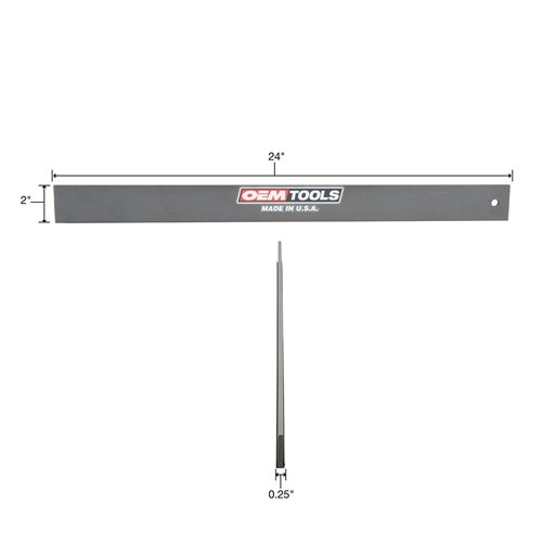 OEMTOOLS 25355 24 Inch Straight Edge Made in USA by OEMTOOLS