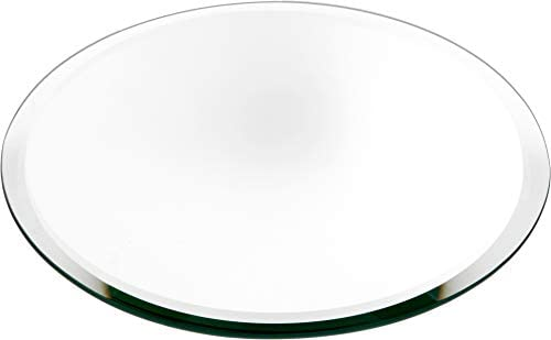 Plymor Round 3mm Beveled Glass Mirror, 10 inch x 10 inch Pack of 10