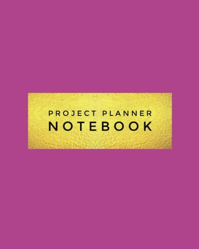"""Project Planner Notebook: Purple Organizer For Your Projects Or Meetings, Our Book Includes: Attendees List, Action Items, Notes, Follow Up, & To Do List 