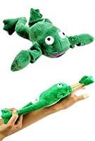 Flingshot Flying Super Frog Slingshot Stuffed Novelty Toy