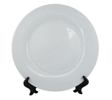 6 Pcs. Sublimation Round Ceramic White Blank Plates 10