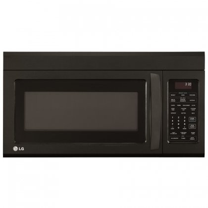 Lg - 1.8 Cu. Ft. Over-the-range Microwave - Smooth Black