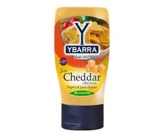 Ybarra – Originele cheddarsaus om de lekkerste recepten op smaak te brengen – 1 x 300 ml