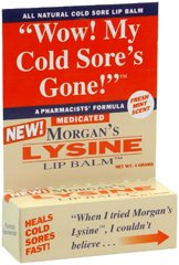 Morgans Morgans Lysine Lip Balm Medicated, 0.17 oz by Jubujub