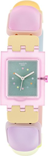 Swatch Women's Originals SUBP106B Multicolor Plastic Swiss Quartz Watch