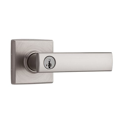 Lever featuring SmartKey in Satin Nickel ()