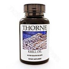Thorne Research - Huile de Krill (60) [Santé et beauté]
