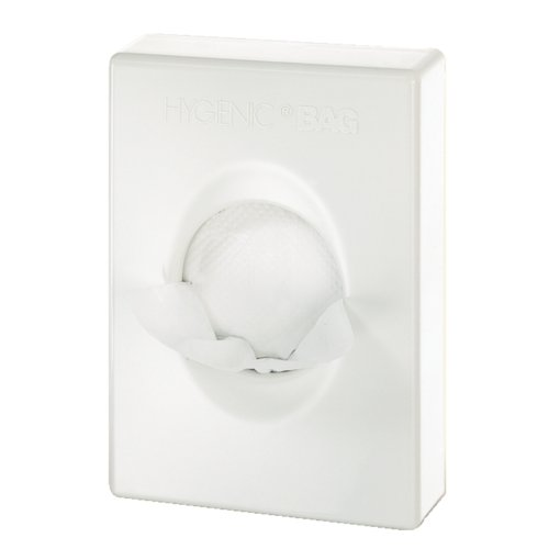 Hygiene Bag Dispenser - Colour: White. Non Branded