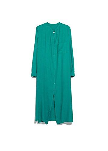 Mango Women's Pocket Shirt Dress, Billiard Green, 4