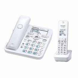 家電 情報家電 電話機周辺機器 Panasonic デジタルコードレス留守番電話機(子機1台) ホワイト VE-GZ50DL-W -ak [簡易パッケージ品] B07D1BRPYS