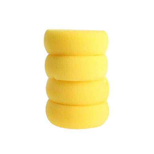 Amrka Round Sponge Brushes For Painting Art Drawing Craft Clay Pottery Sculpture Cleaning Tool (5Pcs) by Amrka (Image #3)