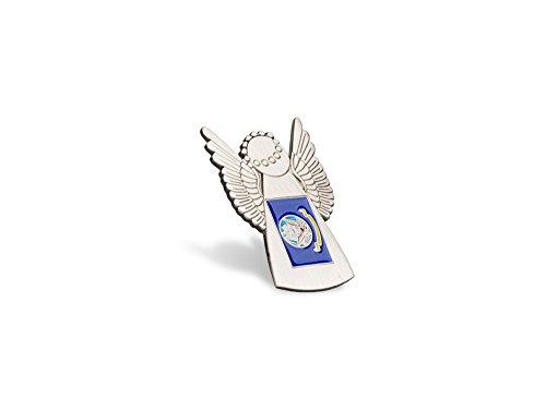 Angel Pin Flag - Navy Angel Flag Pin