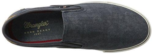 Wrangler Mitos Slip On - Zapatillas Hombre azul (navy)