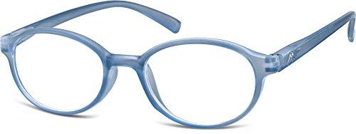PRE-MONTEES LOUPE MR89C bleu avec etui souple Mixte - loupe:+1.5