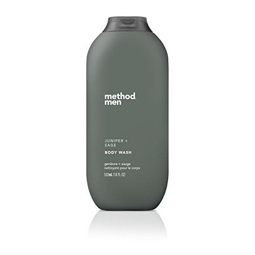 - Method Mens Body Wash, Juniper + Sage, 18 Ounce