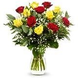 Ramo DE 12 Rosas Naturales