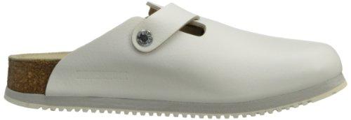 Birkenstock Unisex Professional Boston Super Grip Leather Slip Resistant Work Shoe,White,44 M EU by Birkenstock (Image #6)
