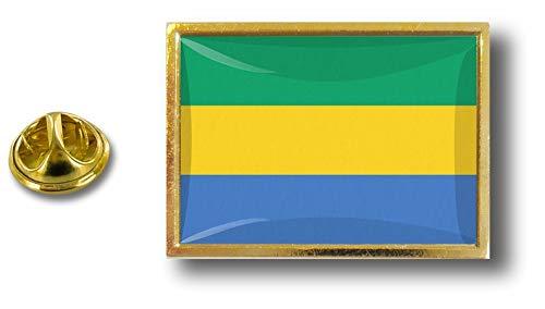del metallo Gabon Akacha e in bandiera pin Pin con Pin birichino qFUpgw