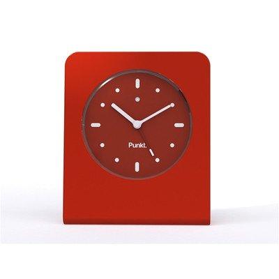 Alarm Clock Color: Orange-Red