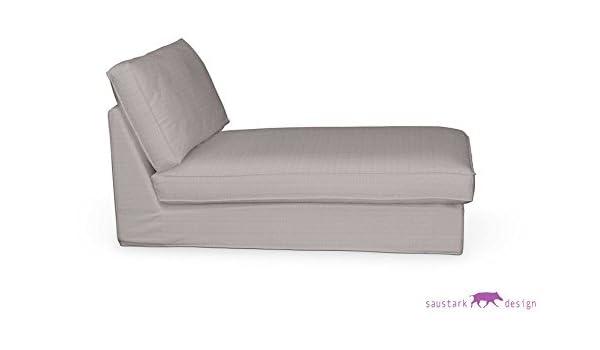 Funda color-blanco FLORENZ coralgraph para IKEA KIVIK Chaise ...