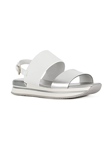 White HXW2570AI30IYO0906 Women's Sandals Silver Hogan Leather Fp18Yxn