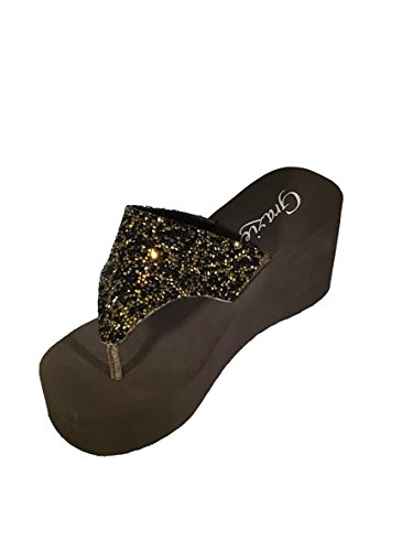 Grazie Women's Beckoning Platform Sandal Bronze buy cheap authentic discount fashion Style buy cheap footlocker pictures jQVWrY2t