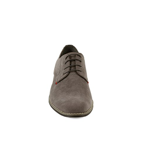 Mens Top Cooper Casual Shoes Low 02 Grey Suede Arider fS7qpx