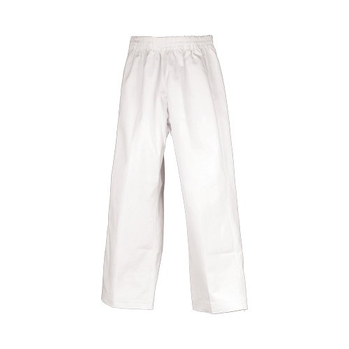 Heavyweight Karate Pants - Tiger Claw Hayashi Heavy Weight Traditional Karate Pants - White - Size 3