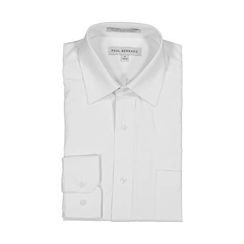 - AKA Boys Wrinkle Free White On White Long Sleeve Dress Shirt Daimond Piquet 20