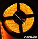 NovaBright 5054SMD Super Bright Orange Flexible Waterproof LED Light Strip 16 Ft Reel Kit
