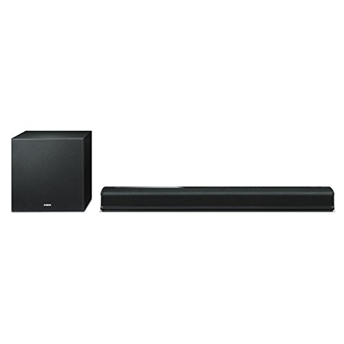 Yamaha YAS706BL MusicCast YAS-706 Wireless Sound Bar with Subwoofer and Built-In Triple Amplifier Drive Black