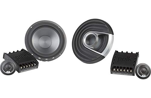 Polk Audio MM1 Series 6.5 Inch 375W Component Marine Boat ATV Speakers -