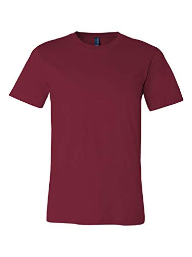 Bella + Canvas Unisex Jersey Short Sleeve Tee (Cardinal) (S)