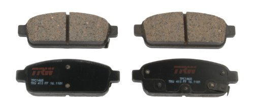 TRW TPC1468 Premium Ceramic Rear Disc Brake Pad Set